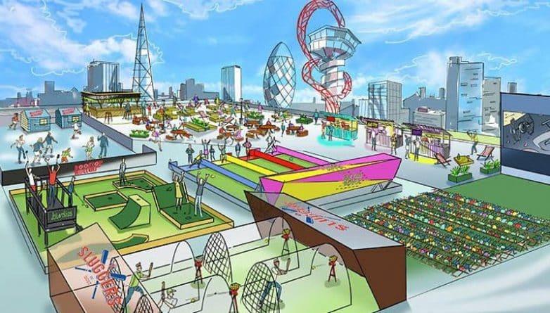 Досуг: Этим летом крыша в Stratford станет игровой площадкой