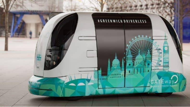 Технологии: Жители Лондона смогут испытать прототип беспилотного автобуса