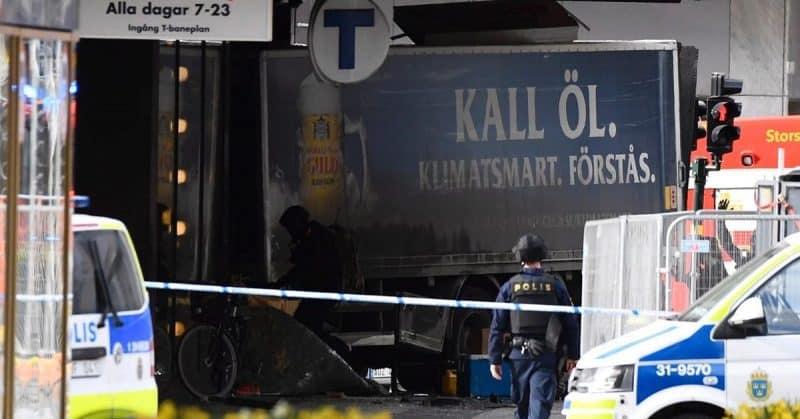 Происшествия: Подозреваемый в стокгольмском теракте признал свою вину