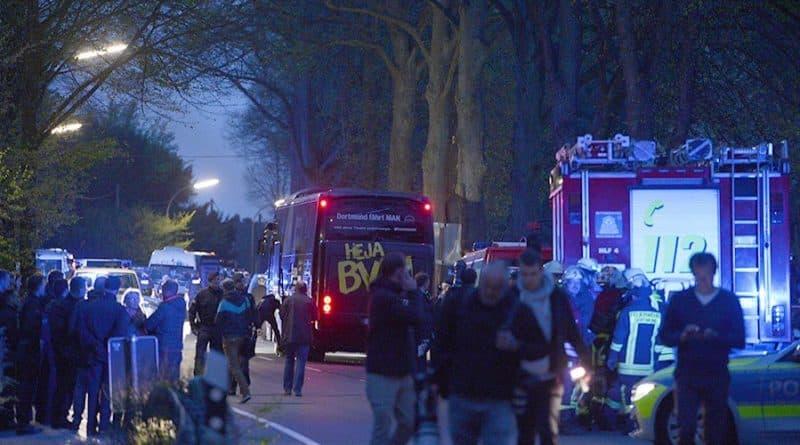 В мире: Взрывы около автобуса Borussia Dortmund: найден след исламистов