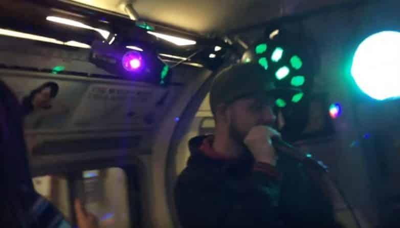 Общество: Полицейские разогнали рейв-вечеринку в вагоне поезда в Лондоне