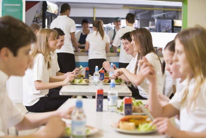 Здоровье и красота: В школьных столовых Шотландии рацион изменят в пользу здоровой пищи