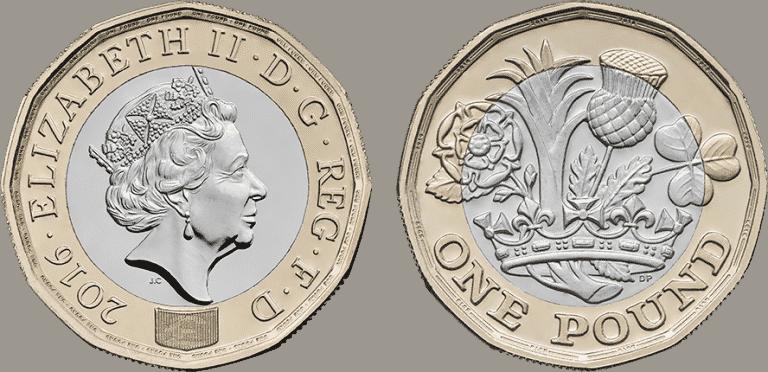 Бизнес и финансы: Новые £1 монеты уже подделали