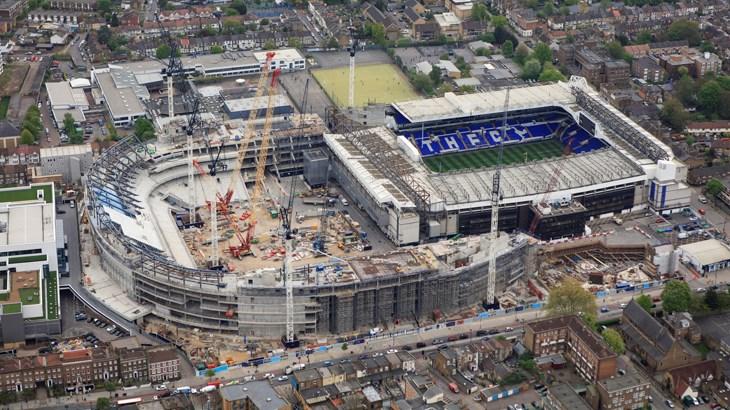 Бизнес и финансы: Строительство нового стадиона Tottenham создало уже тысячу рабочих мест