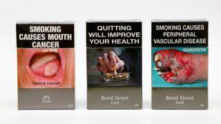 Непривлекательные сигаретные пачки действительно работают
