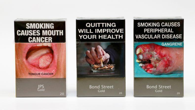 Закон и право: Непривлекательные сигаретные пачки действительно работают