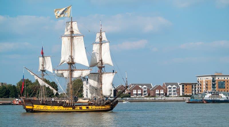 Досуг: Не пропустите Royal Greenwich Tall Ships Festival