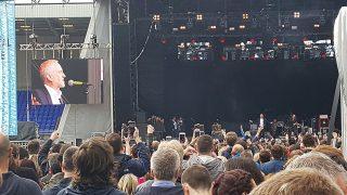 Джереми Корбин выступил на… рок-фестивале