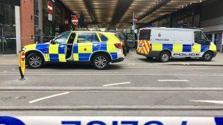 В центре Манчестера эвакуирован торговый центр