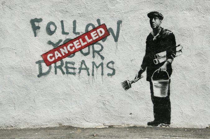 Искусство: Banksy подарит свою работу каждому кто проголосует против консерваторов