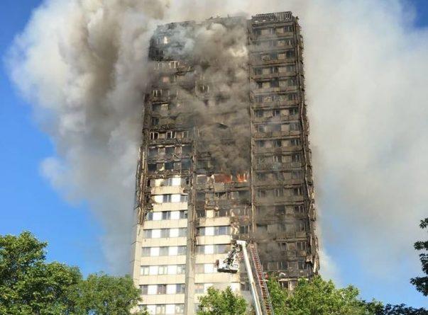 Происшествия: Пожар в 27-этажном доме Лондона: есть жертвы