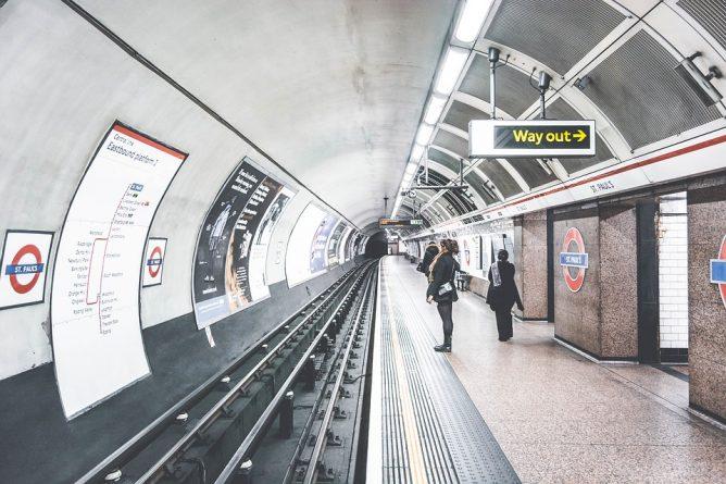 Общество: В Лондоне издали карту метро для страдающих клаустрофобией