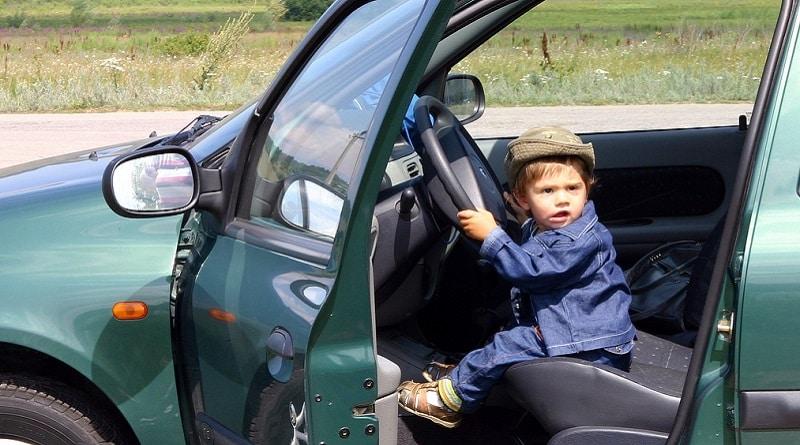 В мире: Пятилетний давил на газ, двухлетний рулил: братья угнали мамину машину