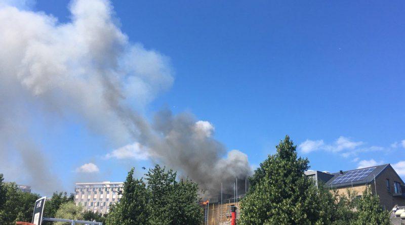 Происшествия: Пылает еще один многоквартирный дом в Лондоне