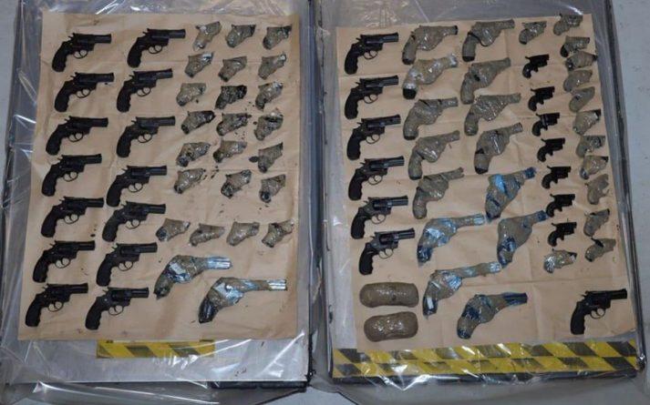 Происшествия: Крупная партия оружия не доехала до Британии