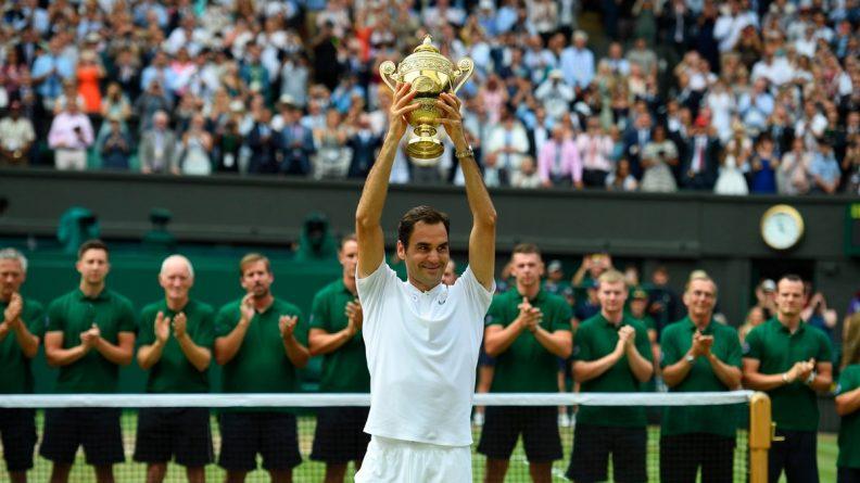 Спорт: Роджер Федерер выиграл Уимблдон в восьмой раз