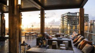 В Canary Wharf открылся новый руфтоп-ресторан на 39-м этаже