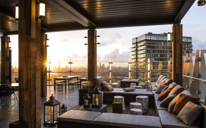Досуг: В Canary Wharf открылся новый руфтоп-ресторан на 39-м этаже