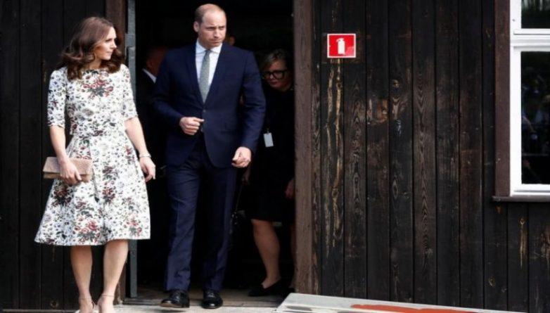 Знаменитости: Принц Уильям почтил память жертв холокоста в Польше