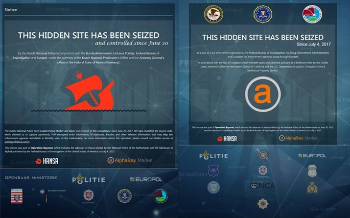 Технологии: Две самые большие торговые площадки даркнета заблокированы