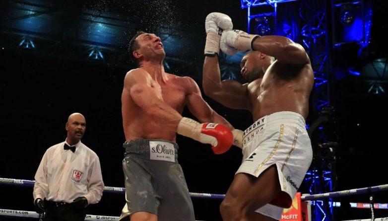 Спорт: У Кличко будет шанс одолеть Джошуа в ответном бою
