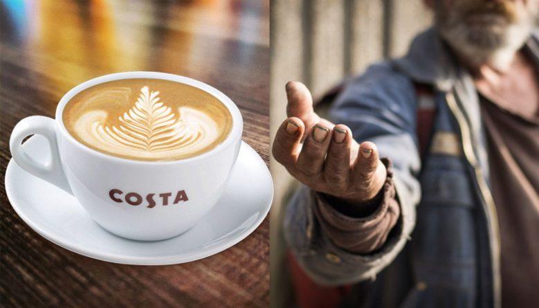 Общество: В кофейне отказались обслужить клиента, который хотел накормить бездомного