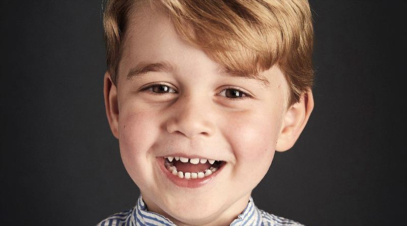 Знаменитости: Принц Джордж отметил свой четвертый день рождения новым фотопортретом