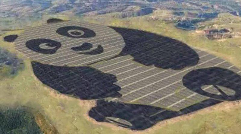 Технологии: В Китае появится солнечная панда-электростанция