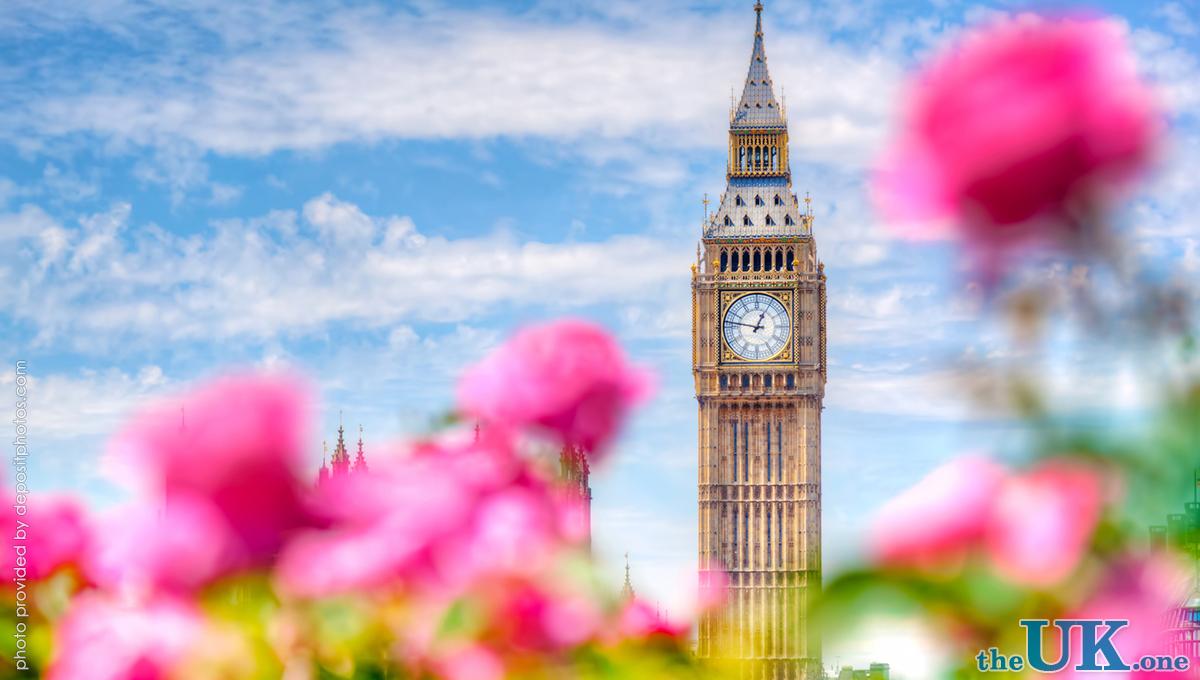 Весна в Лондоне