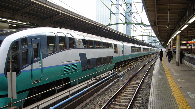 Происшествия: Пьяная дама спрыгнула с поезда и застряла в заборе