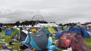 Буря прервала музыкальный фестиваль в Баварии: множество пострадавших