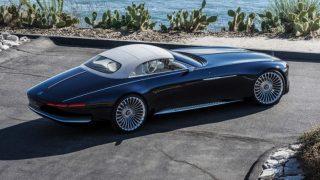 Mercedes-Benz показал шестиметровый кабриолет