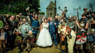 На свадьбу в Ланкашире ворвались 200 викингов