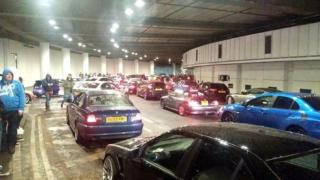 Полиция запретила проводить гонки в тоннелях Лондона