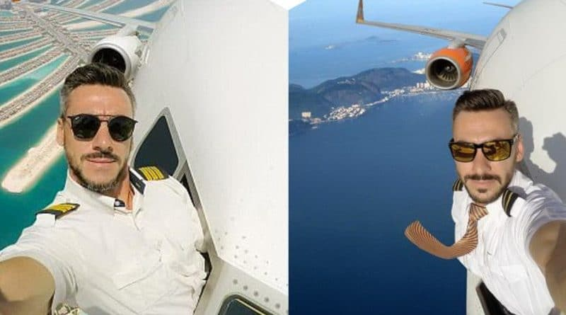 В мире: Селфи из кабины пилота: правда или фотошоп?