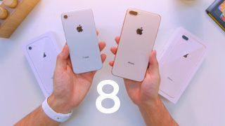 Краш-тест нового iPhone 8