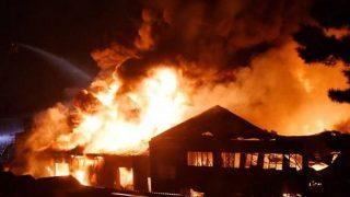 В Лондоне снова масштабный пожар: сгорел склад