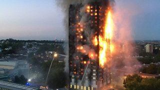 Пожар в Гренфелл нанес серьезные психологические травмы пожарным