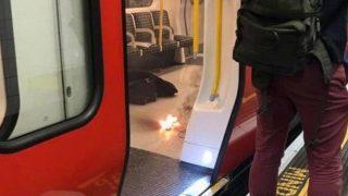 Снова взрыв на станции метро Лондона