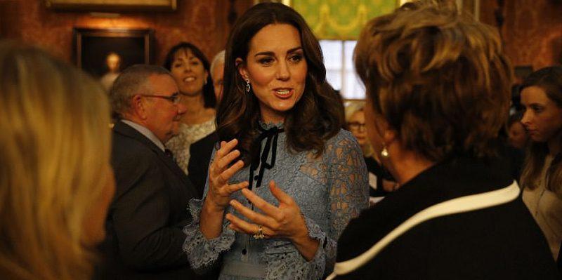 Знаменитости: Первый выход в свет герцогини Кембриджской после объявления о ее беременности в прошлом месяце