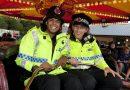 Полицейские повеселились на ярмарке