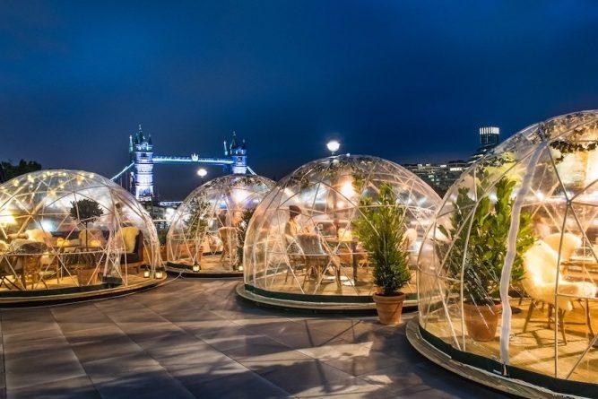 Досуг: Стеклянные иглу возвращаются в Лондон