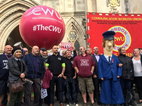 Royal Mail, CWU