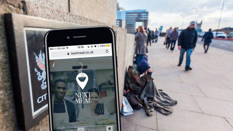 Технологии: Новое приложение поможет многим бездомным в Лондоне