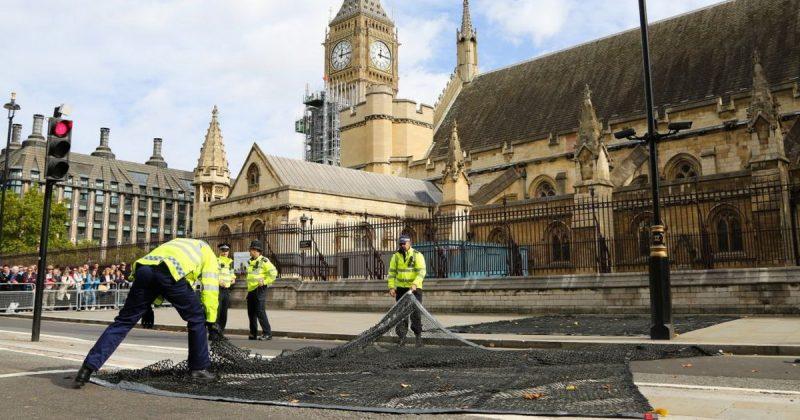 Технологии: В Лондоне полиция тестирует защиту от автотеррористов
