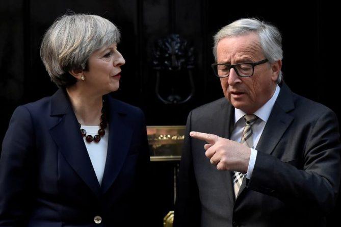 Политика: Тереза Мэй отобедает в Брюсселе