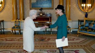 Посол Эстонии вручила верительные грамоты королеве Елизавете II