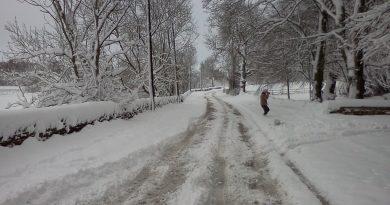 Великобританию накроет снегом