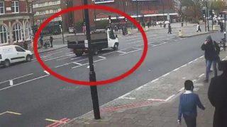 В Лондоне грузовик сбил пожилого еврея и скрылся с места аварии