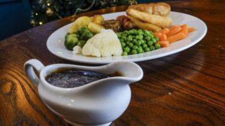 Лондонский паб подает блестящий соус к рождественскому ужину